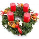 Adventní svícen, přírodní, dánská jedle 3